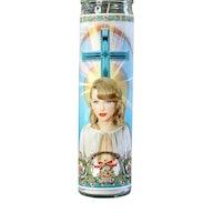 Taylor Swift prayer candle