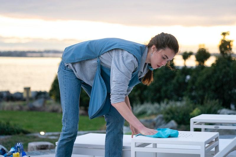 Margaret Qualley as Alex in 'Maid' via Netflix's press site