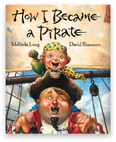 Cover art for 'How I Became a Pirate'