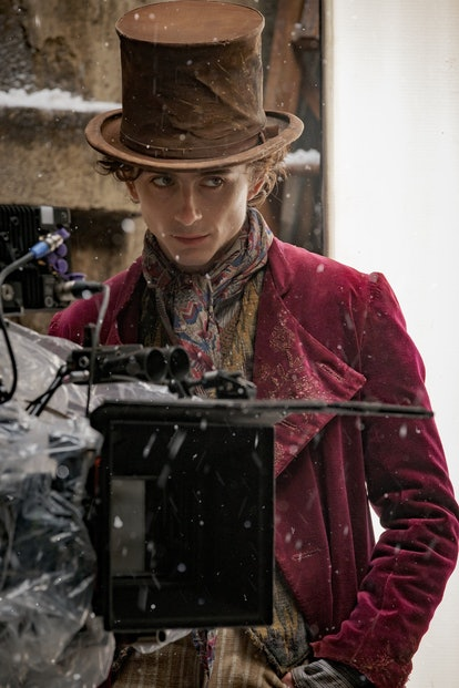 Timothee Chalamet as Wonka