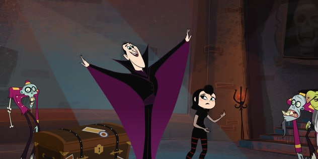 'Hotel Transylvania: The Series' is based on the movie series.