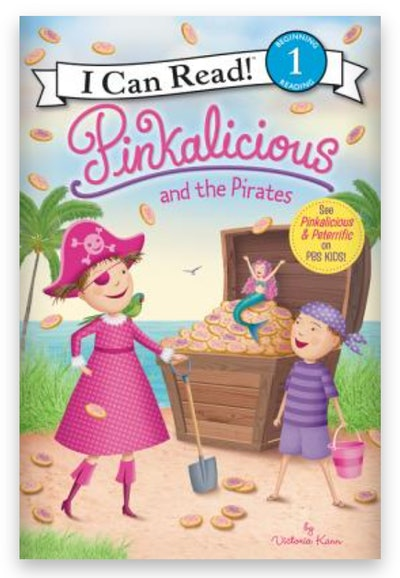 Cover art for 'Pinkalicious and the Pirates'