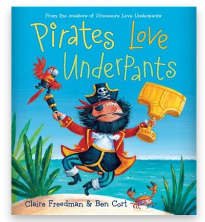 Cover art for 'Pirates Love Underpants'