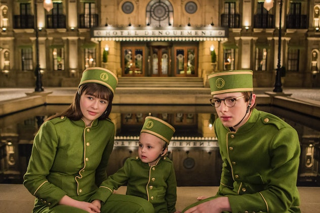 'A Series of Unfortunate Events' is based on the book series by Lemony Snicket.
