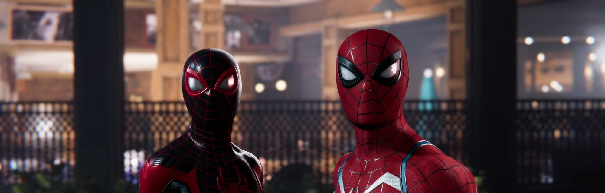 marvels spider man 2 peter and miles screenshot
