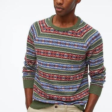 Fez wears multicolored sweaters on 'Euphoria.'