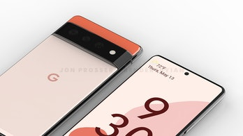Google Pixel 6 phone rendered image