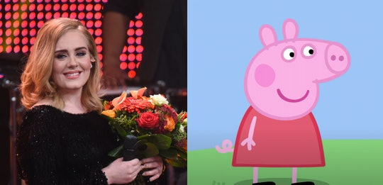 Peppa Pig and Adele will not be collaborating on a new song.