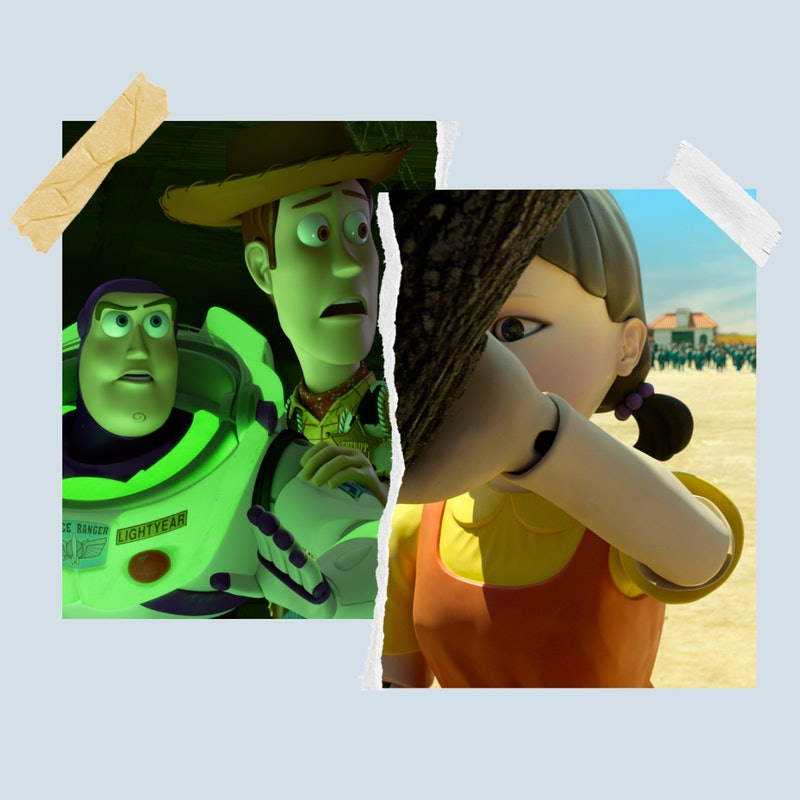 Mark Cannataro Films created a 'Toy Story' version of 'Squid Game' called 'Sid Game' where the toys ...