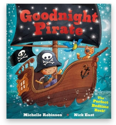 """Cover art for """"Goodnight Pirate"""""""