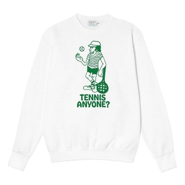 Tennis Anyone? Crewneck Sweater