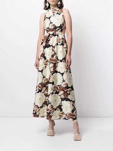 Vivienne Floral-Print Dress