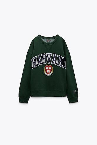 Harvard Sweatshirt Zara