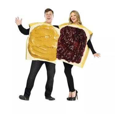 Fun World Peanut Butter and Jelly Couple Costume