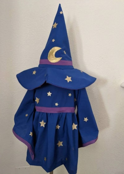 Wizard dress and hat