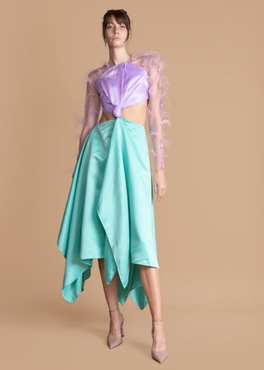 Idowu Feather Dress from Fruché.