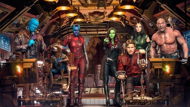 The main cast of Guardians of the Galaxy Vol. 2