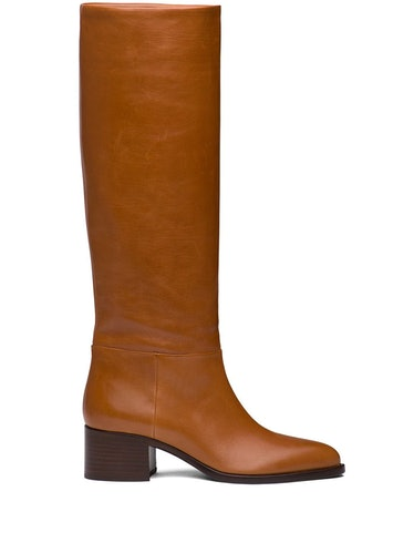 Pointed Toe Knee-High Boots