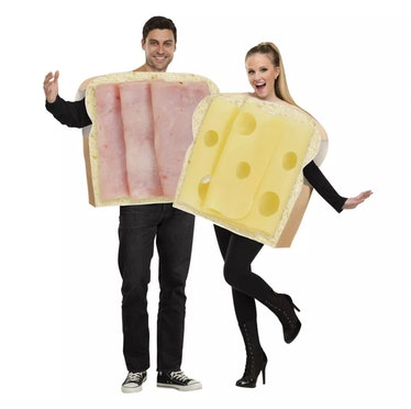 Adult Ham and Swiss Couples Costumes