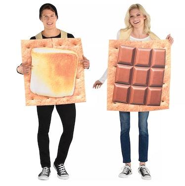Adult Smores Couple Halloween Costume Set