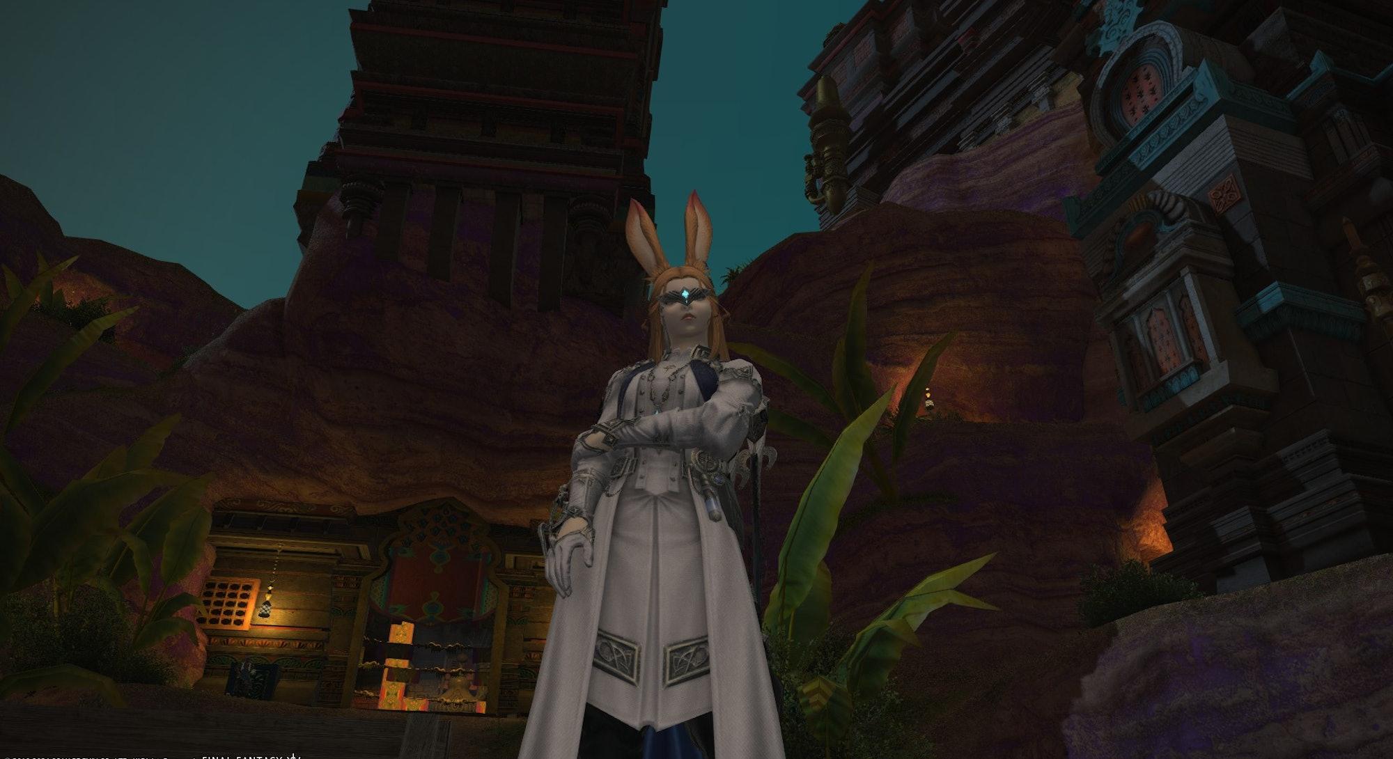 screenshot from Final Fantasy XIV Endwalker