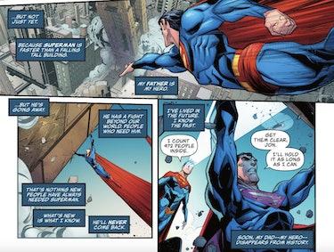 Superman bisexual Son of Kal El #3