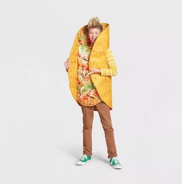 Adult Taco Halloween Costume Bodysuit One Size