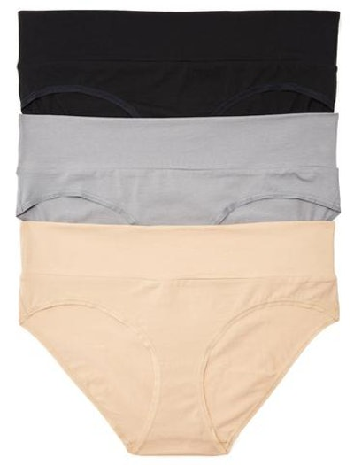 Plus Size Maternity Fold Over Panties