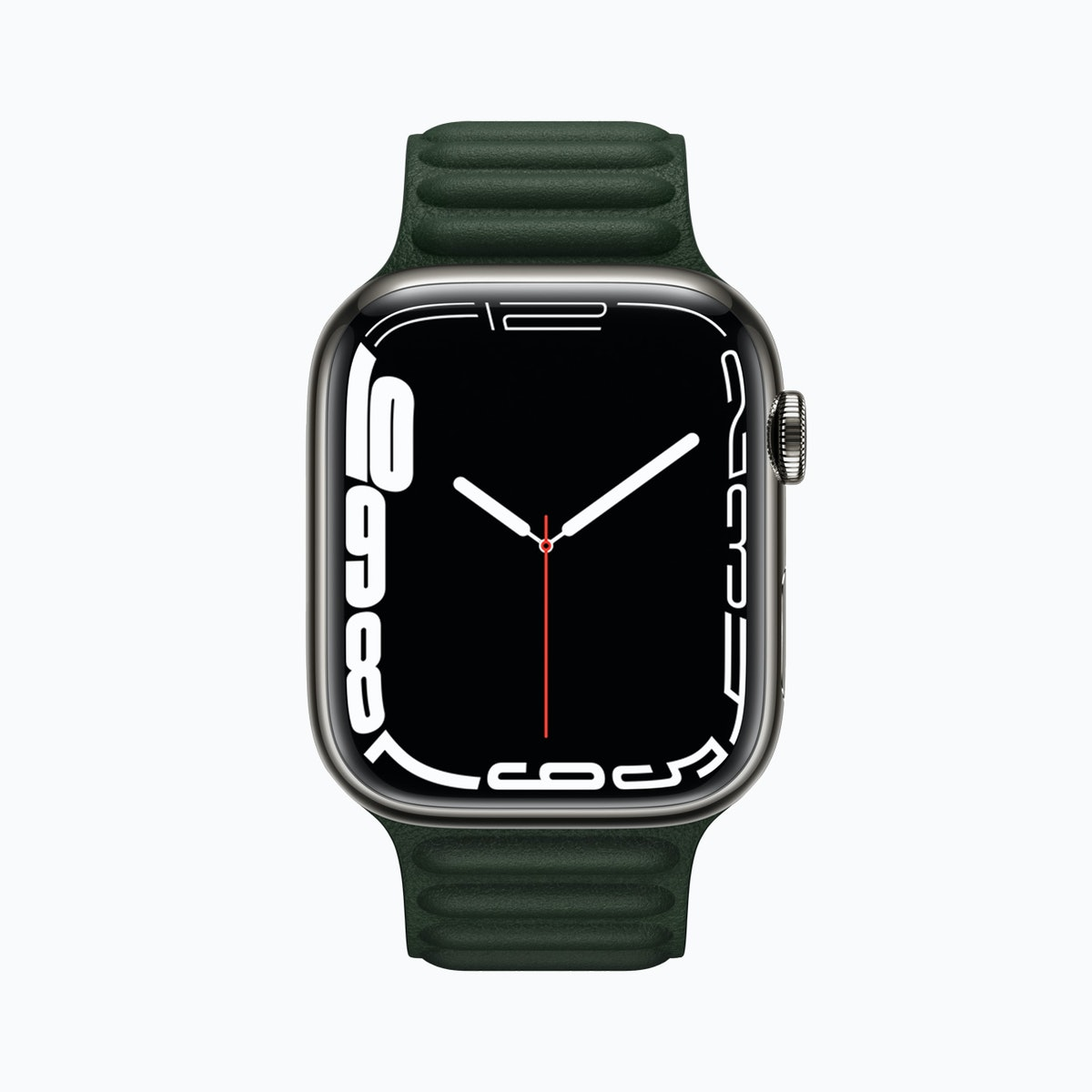 Apple Watch Series 7 with Contour face. How the Apple Watch series 7 is different from the 6.