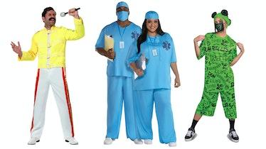 Freddie Mercury Halloween costume, Doctor Halloween costume, and Billie Eilish Halloween costume are...