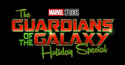 Guardians Of The Galaxy Holiday Special Logo