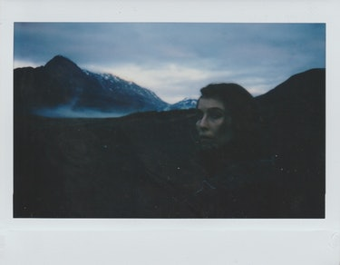 Noomi Rapace in Iceland filming 'Lamb.'