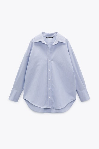 Zara Basic Striped Shirt