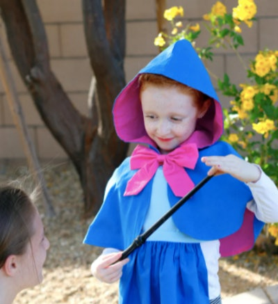 Fairy godmother costume for Halloween