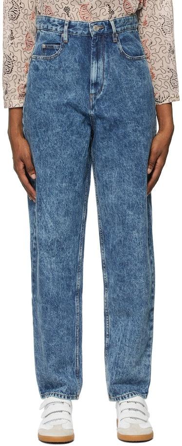 Blue Washed Corsysr Jeans