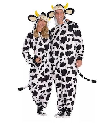 Adult Cow Zipster Halloween Costume