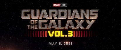 Guardians Of The Galaxy Vol. 3 Logo
