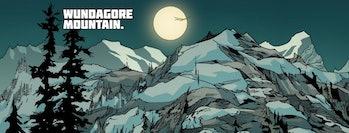 Wundagore Mountain, as depicted in AVX: Vs Vol. 1 #5
