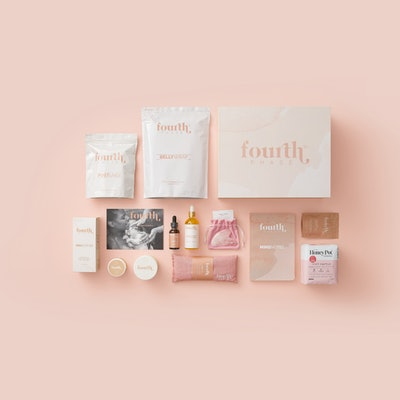 fourth phase gift box for recovery after vaginal birth