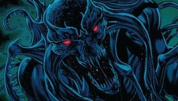 The Elder God, Chthon, as depicted in Carnage Vol. 2 #15