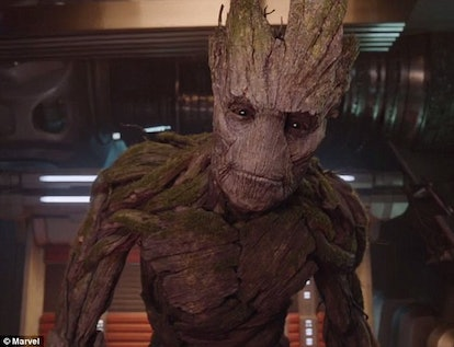 Groot as an Adult in GOTG