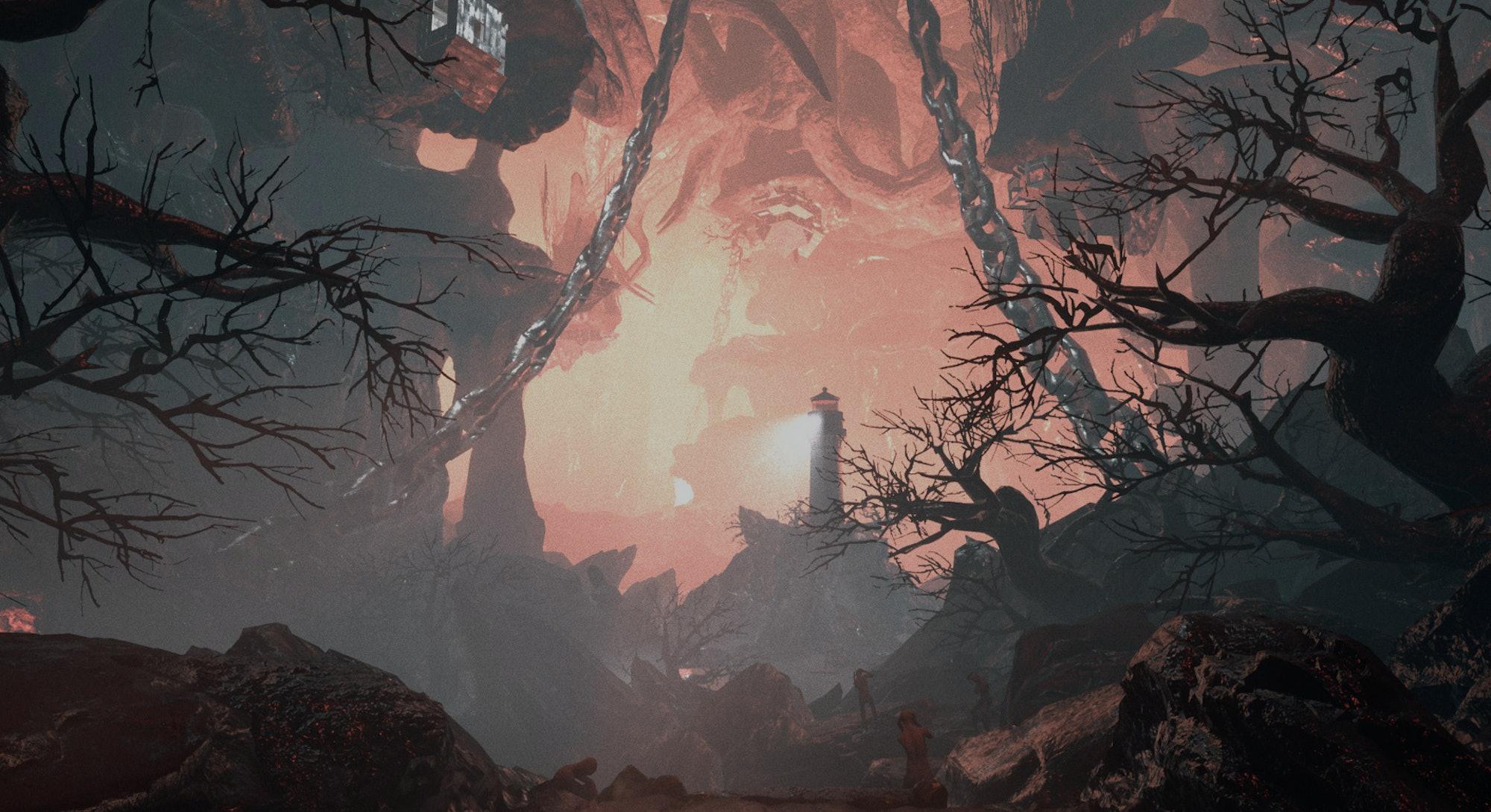 screenshot from Visage horror video game