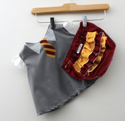 Baby Harry Potter wizard costume