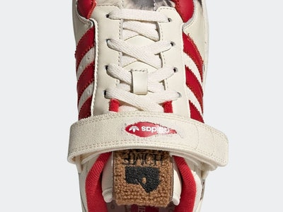 Adidas 'Home Alone' Forum holiday sneaker