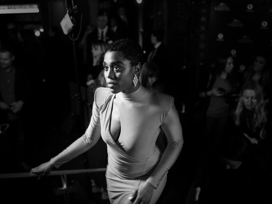 Lashana Lynch stars as Nomi in the new Bond movie, 'No Time to Die.'