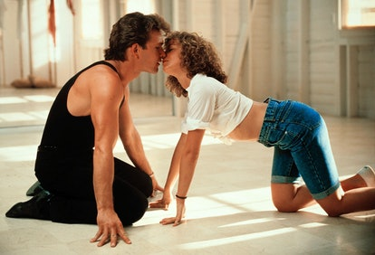 In Dirty Dancing, Baby's classic denim outfit and dreamy curls make for an ideal Halloween costume i...