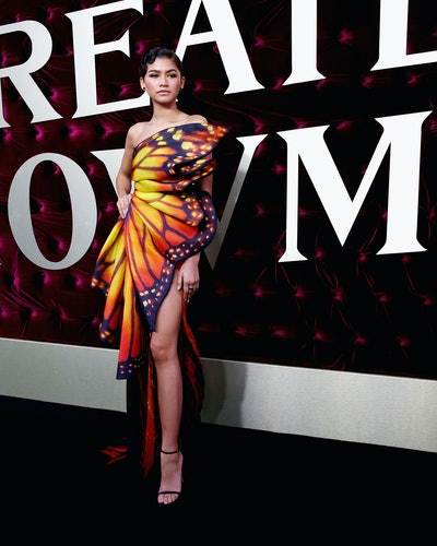 Zendaya attends the Australian premiere of The Greatest Showman in 2017.