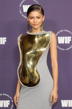 Zendaya attends Women in Film's Annual Award Ceremony at The Academy Museum of Motion Pictures on Oc...