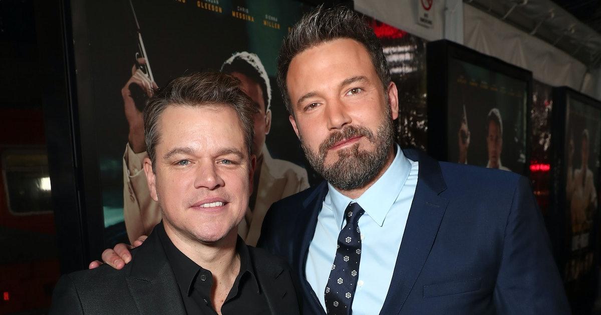 Ben Affleck & Matt Damon's First Onscreen Kiss Was Ultimately Cut