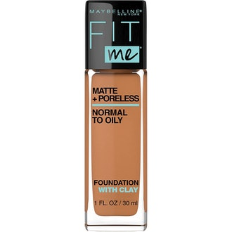 Maybelline Fit Me Matte + Poreless Liquid Foundation, 1 Fl. Oz.